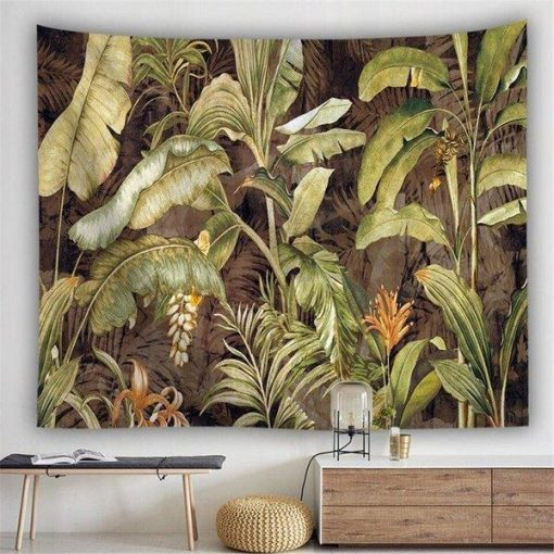 Dschungel Wandbehang