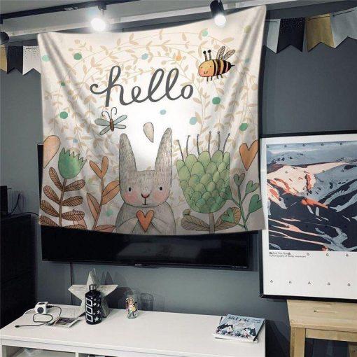Babyzimmer Wandbehang
