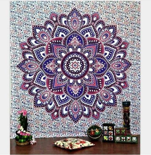 Indisches Mandala Wandbehang - 210 x 150cm
