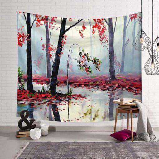 Landschaft Wandbild