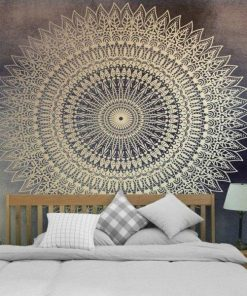 Wandbehang aus Stoff